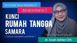 Kunci Rumah Tangga Samara ( Sakinah, Mawadah, Warahmah ) - dr. Aisah Dahlan CHT.