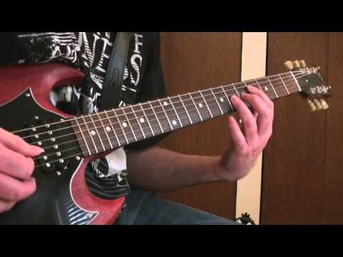 STEEL PANTHER-HELL'S ON FIRE-RHYTHM GUITAR