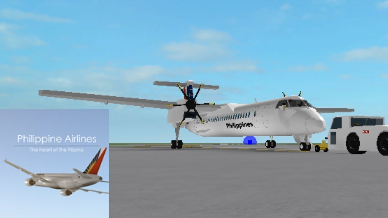 CAPTAIN | Philippine Airlines - Bombardier Q400 | ROBLOX by tro_b
