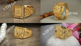 LATEST GOLD RING DESIGNS FOR MEN WITH WEIGHT