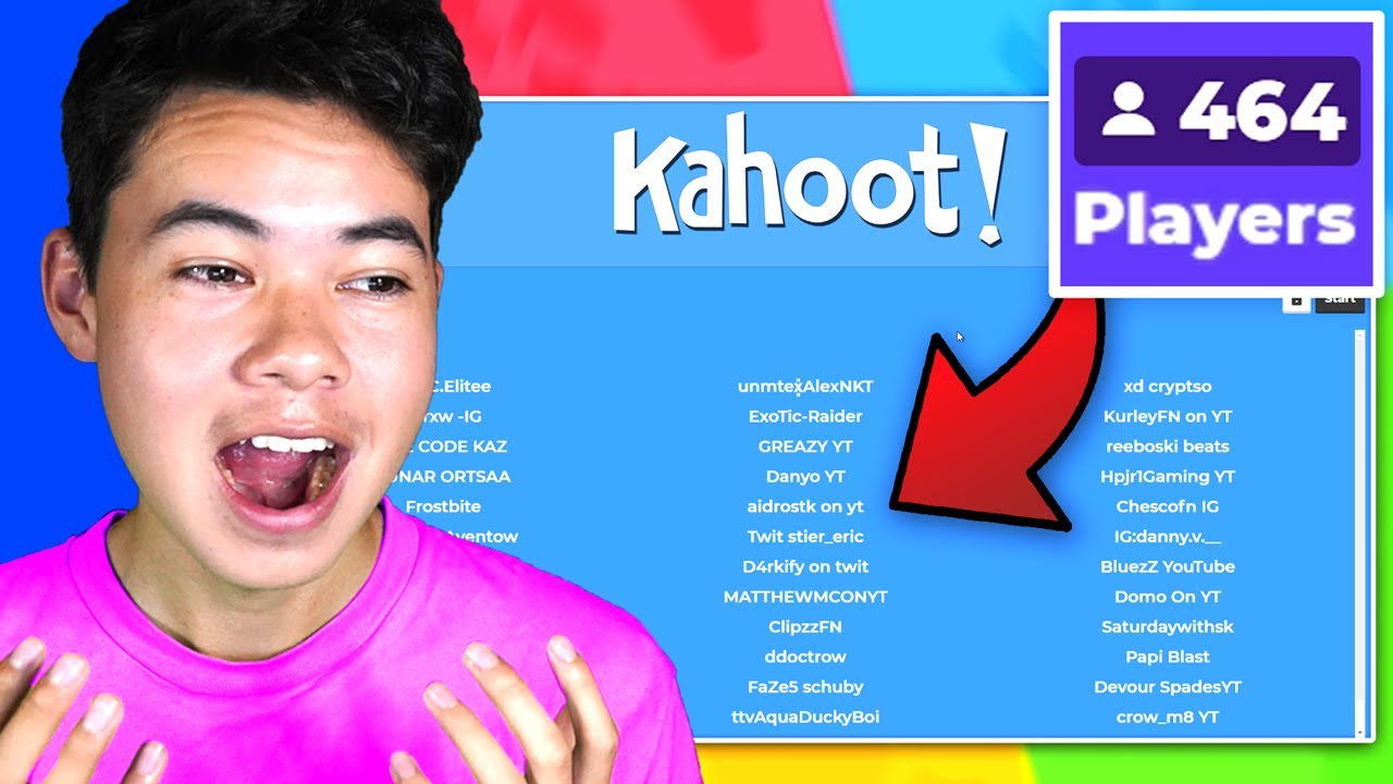 I Hosted A Season 5 Fortnite Kahoot So Hard Youtube Check out the collection of engaging learning games and content from verified educators and partners. i hosted a season 5 fortnite kahoot so hard