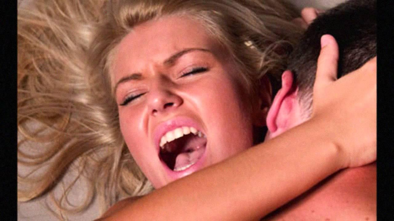 женщина во время оргазма