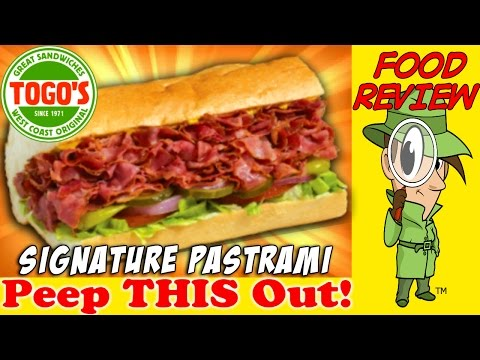 Togo's®   Signature Pastrami Sandwich Review! Peep THIS Out!