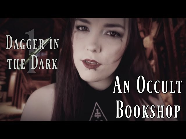 ??ASMR?? Tamara | An Occult Bookshop // Dagger in the Dark