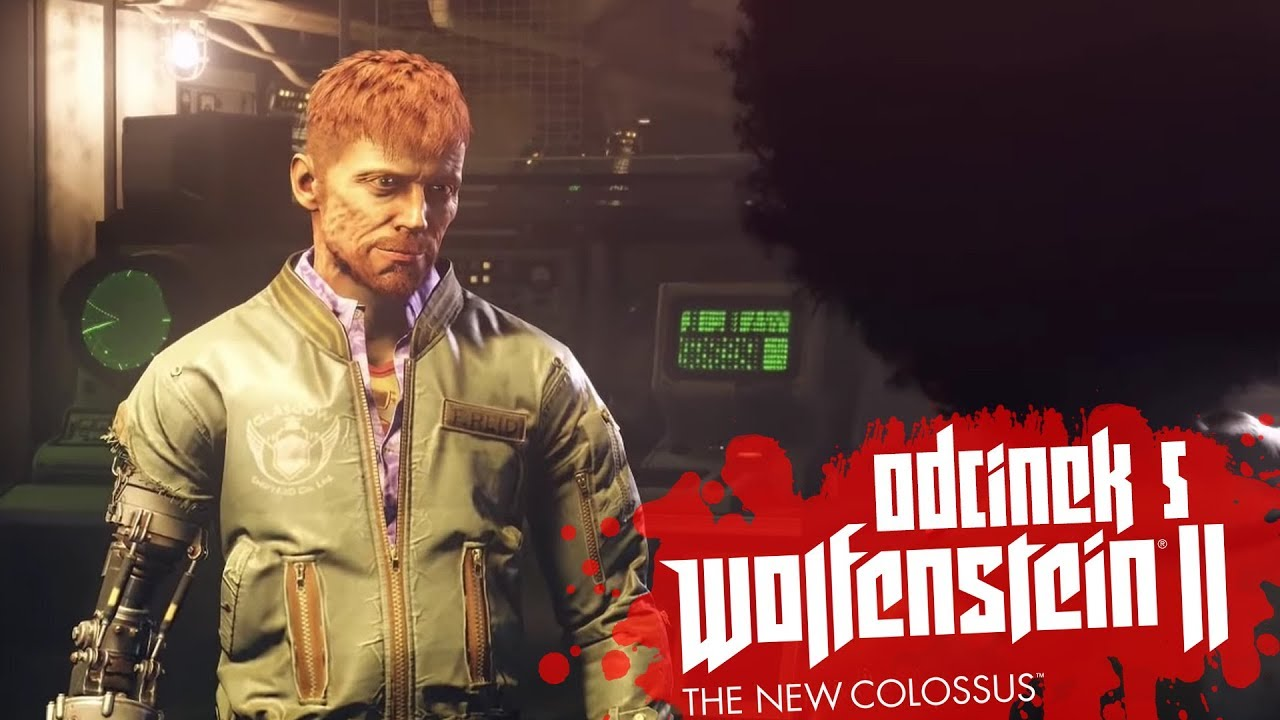 Zagrajmy w Wolfenstein II The New Colossus #5 – IDZIEMY PO ATOMÓWKĘ! – PC
