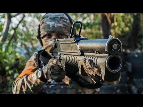 тренировка СПН / взрыв, стрельба в щит, работа в группе