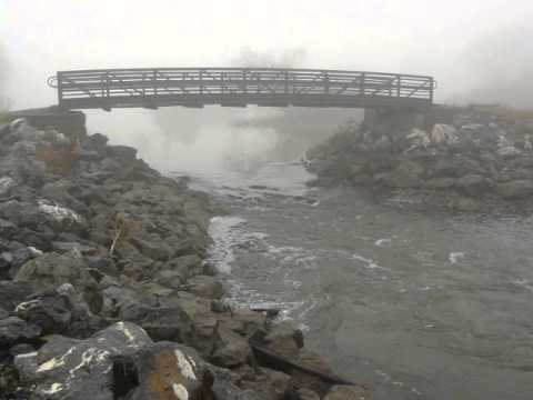 Tidal flow at Kingston Point bridge 3 Dec 2012