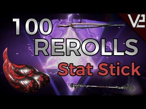 Warframe - 100 Rerolls - Stat Stick Riven for Atlas! thumbnail