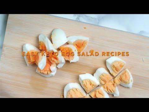 Easy Keto Egg Salad Recipes | Keto Salad Dressing