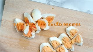 Easy Keto Egg Salad Recipes | Keto Salad Dressing