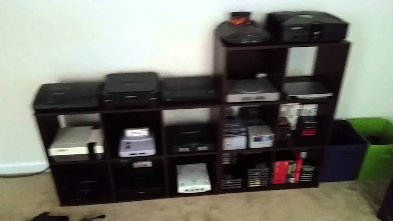 My Video Game Console Collection 1080p HD 6/2014