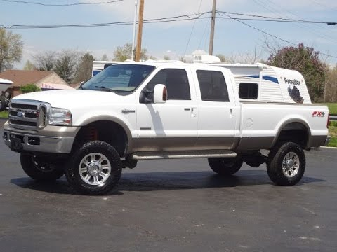 SOLD!!! 2005 FORD F 350 KING RANCH 4X4 LIFTED POWERSTROKE ...