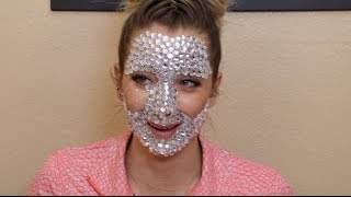 A Full Face Of Rhinestones by : JennaMarbles