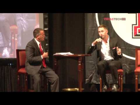Coach Kliff Kingsbury 1-on-1 at Kickoff Luncheon