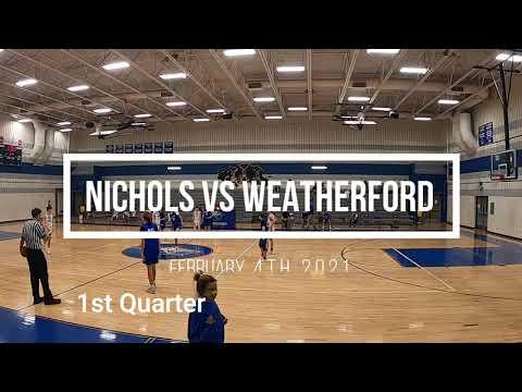 Joshua (Nichols Middle School) vs Weatherford Middle School 8th Grade