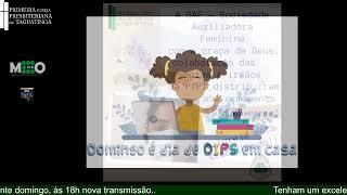 Escola Bíblica Dominical - 02 de Agosto de 2020