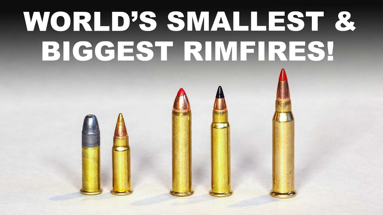 World's Smallest & Biggest Rimfires — 17 and 22 Calibers