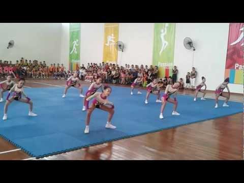 aerobic THIEU NHI PHUONG THUONG THANH 2012