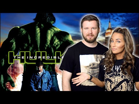 My girlfriend watches The Incredible Hulk for the FIRST time || MCU Phase 1