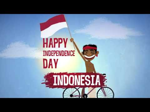 Happy Independence Indonesia!