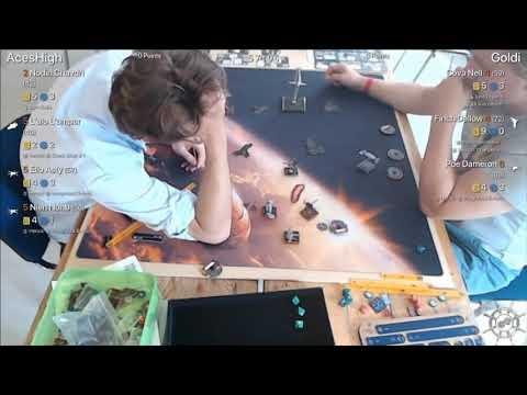 X-Wing Turnierbericht: Galaktische Welten 2 Runde 4