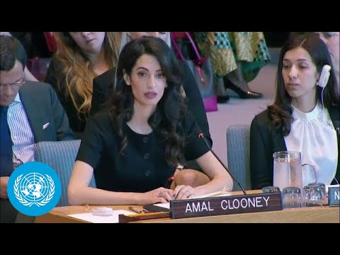 Amal Clooney on Sexual Violence in Conflict - Security Council Statement