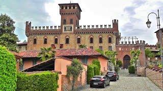 ИТАЛИЯ! Красивые уголки старой Европы: Пьемонт, Калузо, замок в Mazze