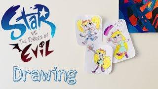 3 tane STAR BUTTERFLY Çizim / Star Butterfly Draw