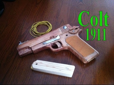 how to make a wooden m1911