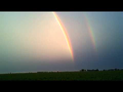 Tim Brauhn Franklin Grove Giant Double Rainbow 8-1...
