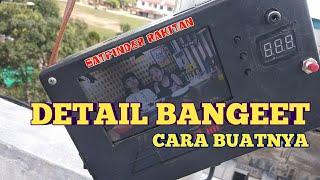 DETAIL MEMBUAT SATFINDER RAKITAN K5S 8MB TENAGA BATRE MP3