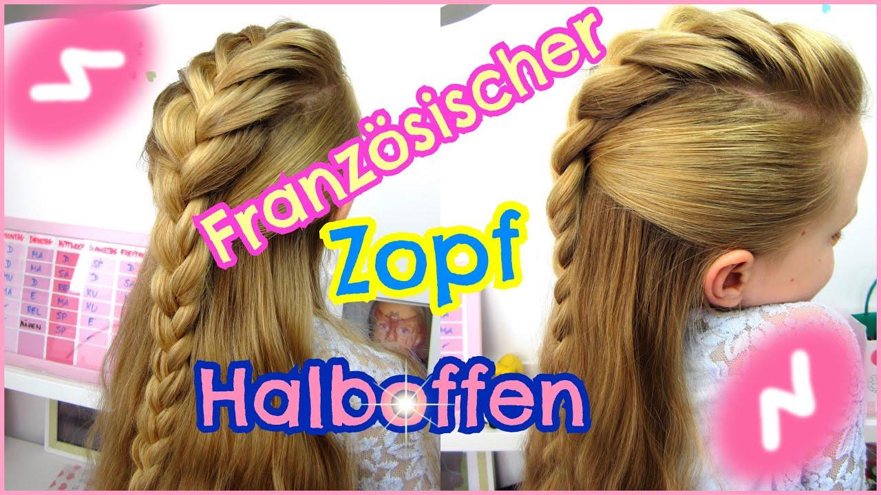 Franzsischer Zopf im Irokesen Look Halboffene Haare