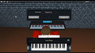 It's Been So Long - FNaF2 by: The Living Tombstone on a ROBLOX piano. [Easier]