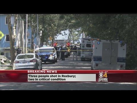 3 Wounded In Roxbury Shooting