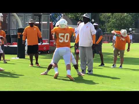 Highlights from Tennessee football practice (8/27/18)