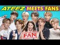 K-Pop Fans React To And MEET K-Pop Stars ATEEZ 에이티즈