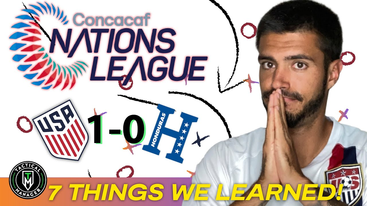 What we learned from the USMNT win at Honduras & during ...