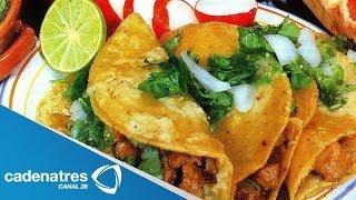 Receta De Tacos / Cómo Hacer Tacos De Carne Adobada