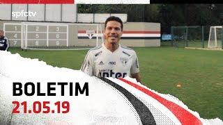 BOLETIM DE TREINO: 21.05   SPFCTV