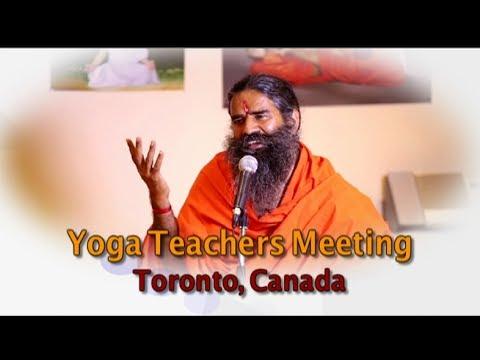 Yoga Teachers Meeting | Toronto, Canada | 30 June 2017 (Part 1)
