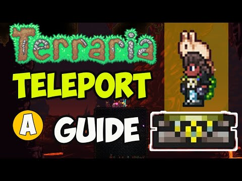 How To Make A Teleporter In Terraria 2020 Terraria 1 4 How To Build Teleporter In Terraria Udisen Games Let S Play Index Then you put the 2 where you want to travel to and from. let s play index