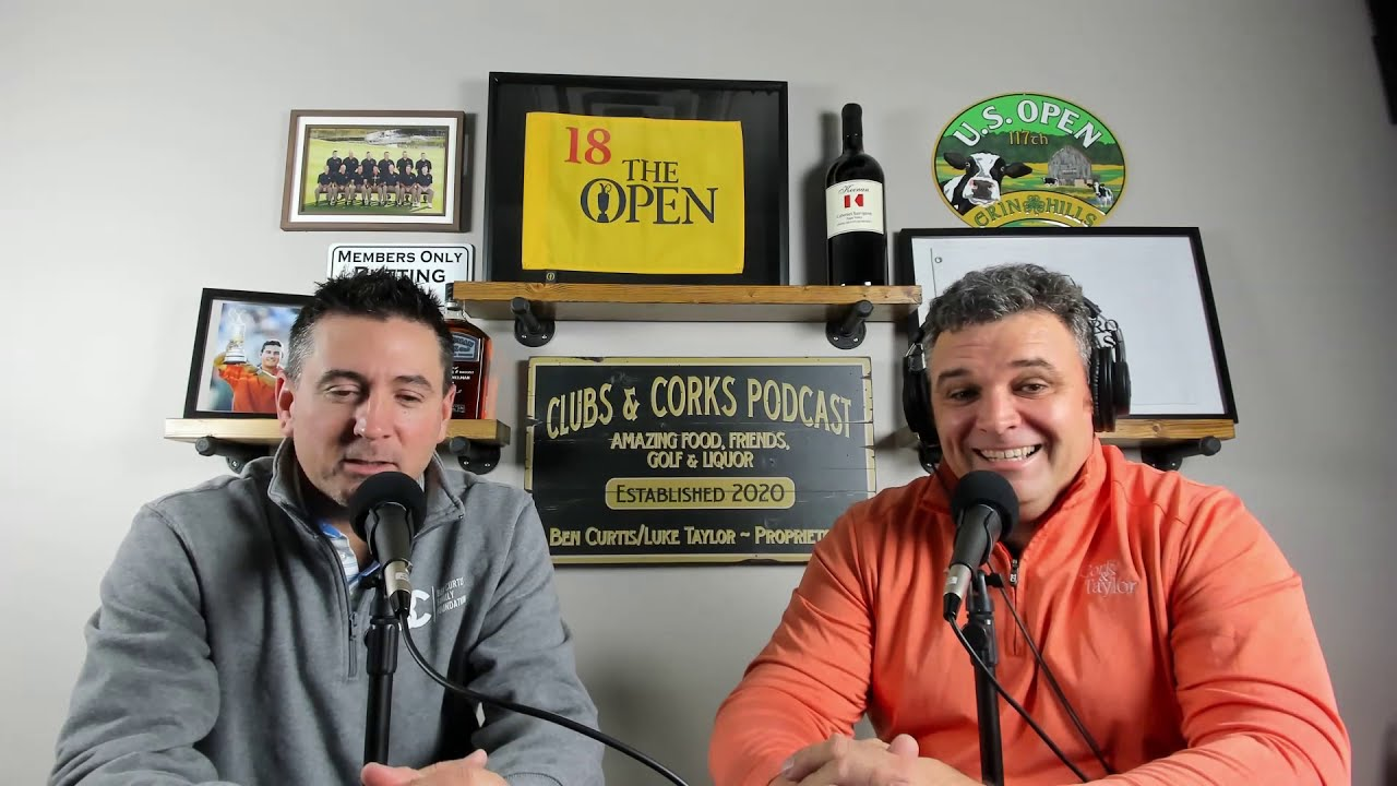 Clubs and Corks Golf Podcast Trailer