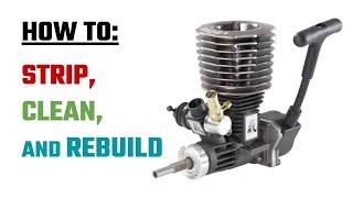 Nitro Engine - Strip and rebuild.   MythicalRC