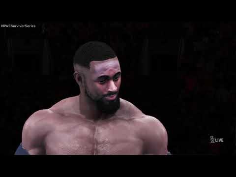WWE 2K20 (PS4)™ - Fairley vs. Hardy vs. Owens: RWE Surivior Series, November 23, 2020 [HD]