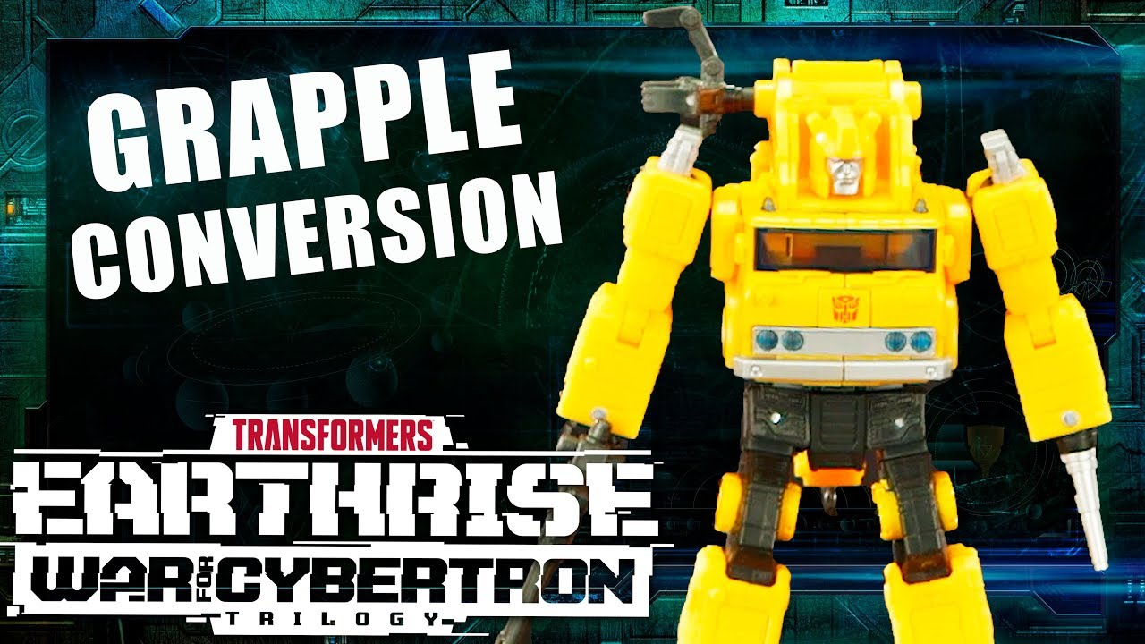 How to Convert Grapple - War for Cybertron: Earthrise Official Video