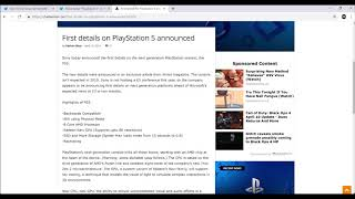 PS5 Newest Confirmed News | First Playstation 5 Official Information