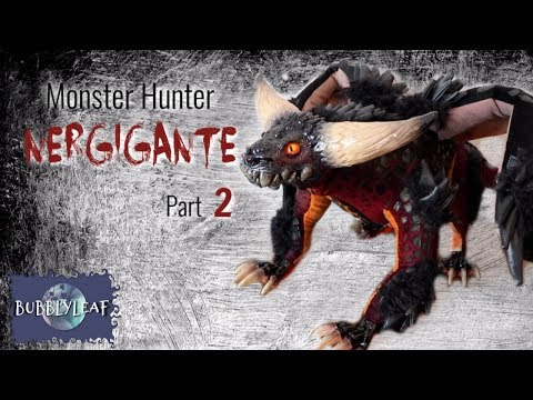 Monster Hunter Nergigante Part 2 || Posable ArtDoll Tutorial