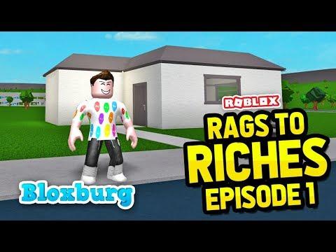 BRAND NEW START - Bloxburg Rags to Riches #1