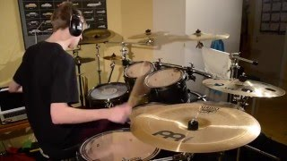 Cold Blood- Apocalyptica-Drum Cover By-Erik Karlsson