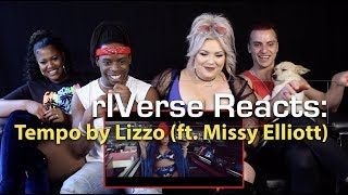rIVerse Reacts: Tempo by Lizzo (ft. Missy Elliott) - M/V Reaction